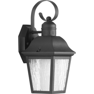 Andover Collection Black One-Light Small Wall Lantern