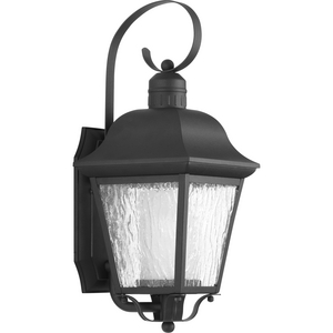 Andover Collection Black One-Light Medium Wall Lantern