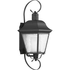 Andover Collection Black One-Light Large Wall Lantern