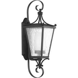 Cadence Collection Black One-Light Medium Wall Lantern