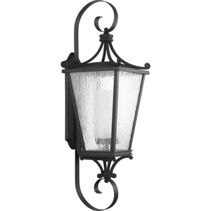 Cadence Collection Black One-Light Extra-Large Wall Lantern