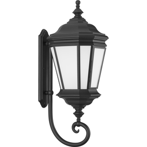 Crawford Collection Black One-Light Extra-Large Wall Lantern