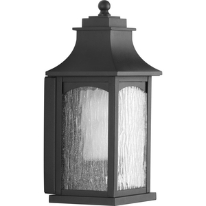 Maison Collection Black One-Light Small Wall Lantern
