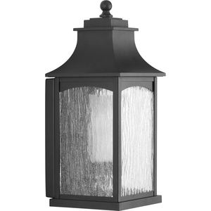 Maison Collection Black One-Light Medium Wall Lantern