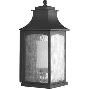 Maison Collection Black One-Light Large Wall Lantern