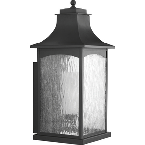 Maison Collection Black One-Light Extra-Large Wall Lantern