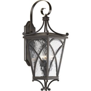 Cadence Collection Three-Light Large Wall Lantern
