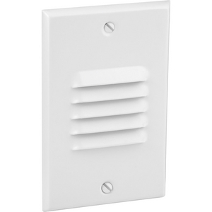 LED Step/Wall Light Louvered