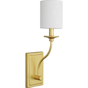 Bonita Collection Satin Brass One-Light Wall Sconce