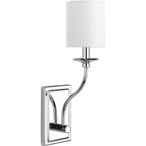 Bonita Collection Polished Chrome One-Light Wall Sconce