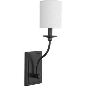 Bonita Collection Black One-Light Wall Sconce