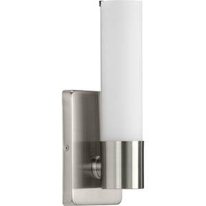 Blanco LED Collection Brushed Nickel One-Light LED Wall Bracket