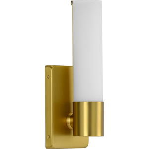 Blanco LED Collection Satin Brass One-Light LED Wall Bracket