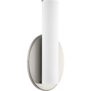 Parallel LED Collection One-Light LED Wall Bracket, Brushed Nickel Finish
