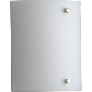 Curve LED One-Light White Opal Acrylic Modern Style Wall Sconce Light