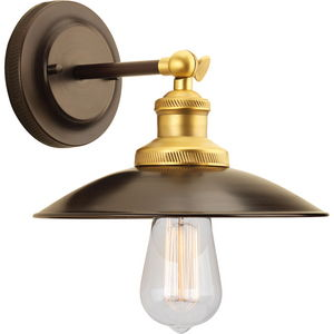 Archives Collection One-Light Adjustable Swivel Wall Sconce