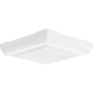 """Two-Light 9-5/8"""" Square Close-to-Ceiling"""