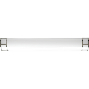"""Linear Cloud Collection 48"""" Linear LED Flush Mount, Brushed Nickel Finish"""