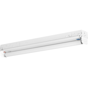 One-Light 2' Modular Fluorescent Strip Light