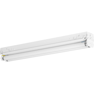 Two-Light 2' Modular Fluorescent Strip Light