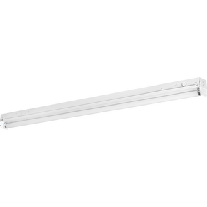 One-Light 4' Modular Fluorescent Strip Light