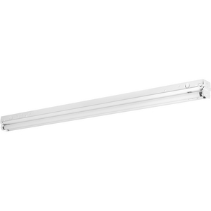 Two-Light 4' Modular Fluorescent Strip Light