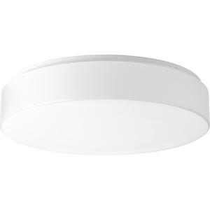 """One-Light 17"""" LED Drum Flush Mount"""