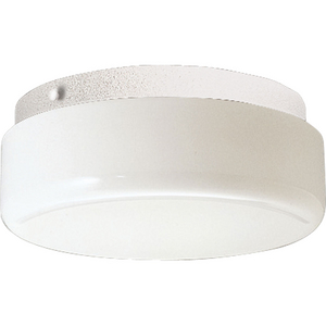 """Hard-Nox Collection One-Light 9"""" CFL Close-to-Ceiling"""