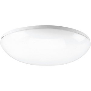 "18-1/8"" Round Cloud CFL Four-Light Close-to-Ceiling"