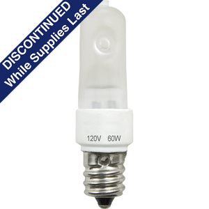 60-watt E12 Krypton Xenon Lamp