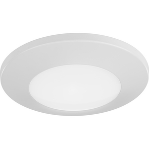 "7-1/4"" Emblem Collection Surface Mount LED in White"