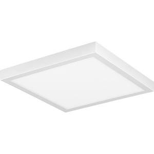 "Everlume Collection White 11"" Edgelit Square"