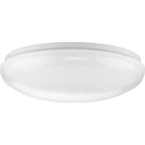 "Linear LED Cloud One-Light 14"" Flush Mount"