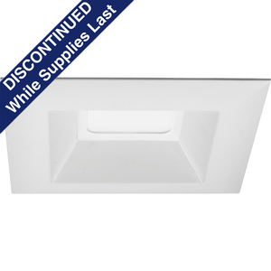 "6"" LED Square Recessed trim"