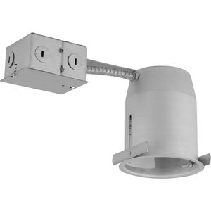 "4"" LED Recessed Remodel Non-IC Housing"
