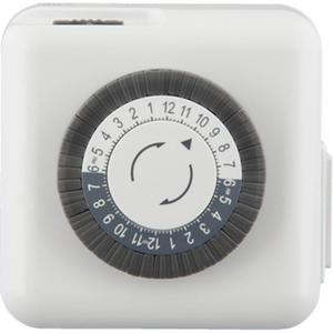 Transformer Accessory Two-Prong Plug-In Timer