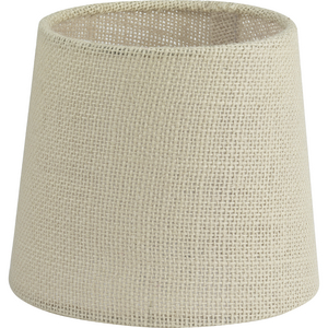 Accessory Shade in Natural Burlap