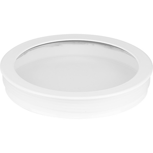 Cylinder Lens Collection White 5-Inch Round Cylinder Cover