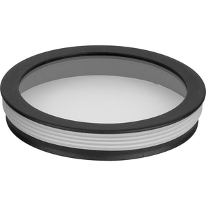 Cylinder Lens Collection Black 5-Inch Round Cylinder Cover
