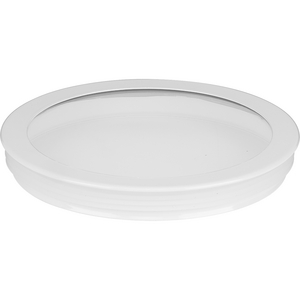 Cylinder Lens Collection White 6-Inch Round Cylinder Cover