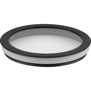Cylinder Lens Collection Black 6-Inch Round Cylinder Cover