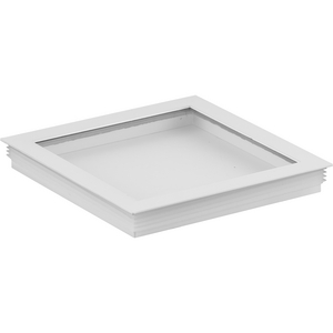 Cylinder Lens Collection White 6-Inch Square Cylinder Cover
