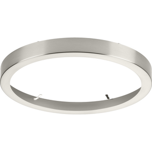 "Everlume Collection Brushed Nickel 11"" Edgelit Round Trim Ring"