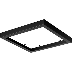 "Everlume Collection Black 11"" Edgelit Square Trim Ring"