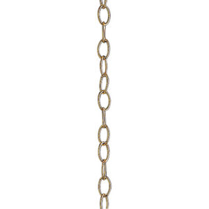 Accessory Chain - 10' of 9 Gauge Chain in Polished Brass