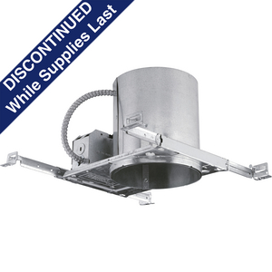 "6"" LED New Construction Air-Tight IC & Non-IC Housing"