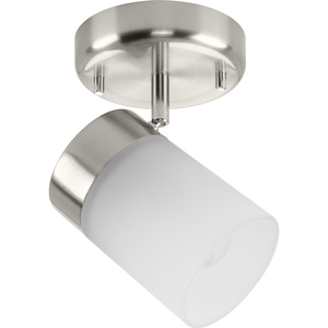 Ridgecrest Collection Brushed Nickel One-Head Multi-Directional Track