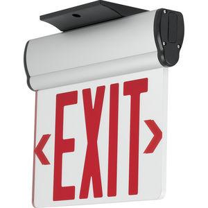 Edge-Lit LED Emergency Exit Surface
