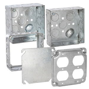 4 in. Square Boxes & Covers
