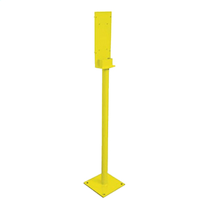 Mounting Post (1.57 metre); yellow